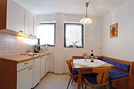 Dining area - apartment for 2 - 4 persons