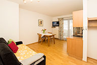 Dining area - apartment for 2 persons